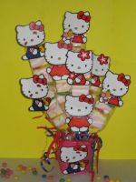 Hello kitty traktatie.